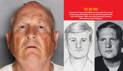 THE GOLDEN STATE SERIAL KILLER CAUGHT? image
